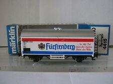 Märklin HO 4415 Kühl / Bierwagen Fürstenberg DB  (RG/BP/19R4/3)