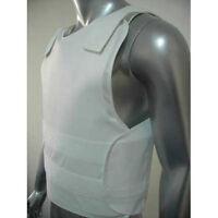 New Concealable Bullet Proof Vest + Stab Proof Body Armor NIJ IIIA Sizes: S-XXXL