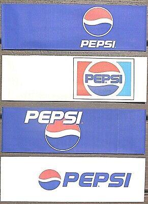 4 ~ Different Pepsi Cola Paper Soda Jerk Hats  Fountain Server  Ice Cream Social