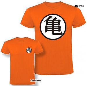 Camiseta-Dragon-Ball-escuela-tortuga-Roshi-Hombre-varias-tallas-y-colores
