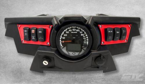 Polaris RZR XP 1000 Red Dash Switch Panel