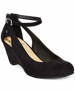 855feb05769 Details about American Rag Miley Chop Out Wedges Womens Shoes Size 7 M US