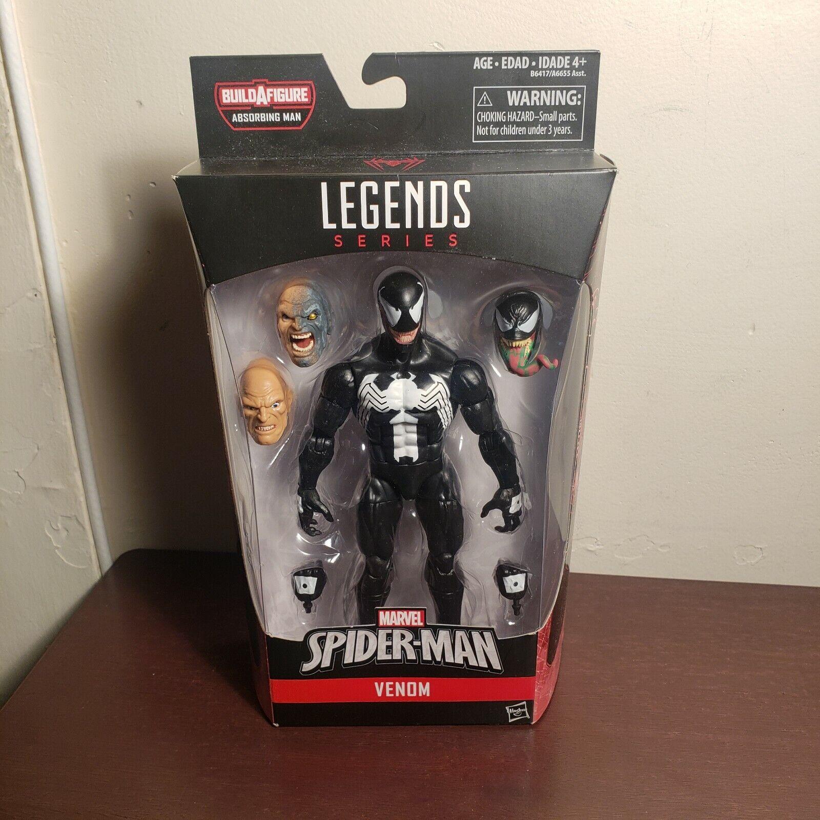 Marvel Legends - VENOM Action Figure - Spider-Man Infinite  - HASBRO  100% garantie d'ajustement