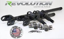 Revolution Axle USA Made Front Dana 30 Axle Kit for TJ, LJ, XJ, YJ & ZJ,  30Spl