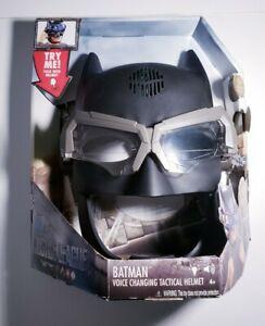 Mattel DC Justice League Batman Voice Changing Tactical Light-Up Helmet