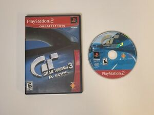 Gran Turismo 3 A-spec [GH] (Sony PlayStation 2 PS2)  TESTED*