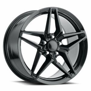 FR Series 29 Replica Corvette ZR1 Wheel 20X12 5X4.75 ET59 70.3CB Carbon Black
