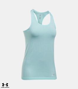 Under Armour Damen Damen Tanktop HeatGear Threadborne Fashion Trainingstop