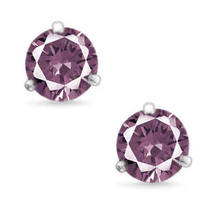 819706b09 Image is loading Martini-Round-Cut-Alexandrite-925-Silver-Sterling-Silver-