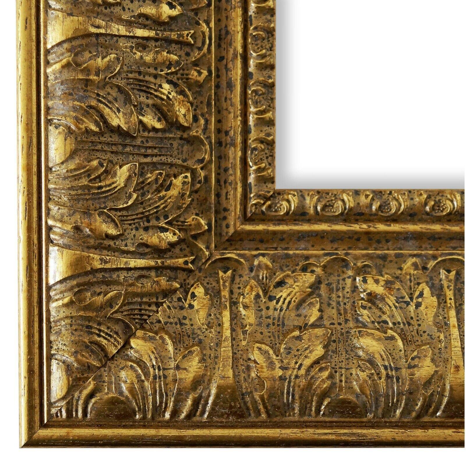 Bilderrahmen Ancona Gold - 24x30 28x35 30x30 30x40 30x45 40x40 40x50