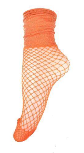 NUOVA LINEA DONNA STIVALETTI Scaldamuscoli Calze Con Argento Glitter fascia elastica si adatta taglia UK 3-7