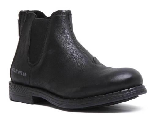 Size Uk 12 Boots Durand Mens Leather 7 Replay Matt Black wd0XzYnFq