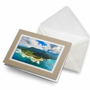 Greetings-Card-Biege-Na-Pali-Kauai-Island-Hawaii-15670