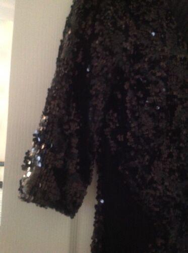 Jane With size Embellished Dress Norman Mesh 16 Black pn4TnF
