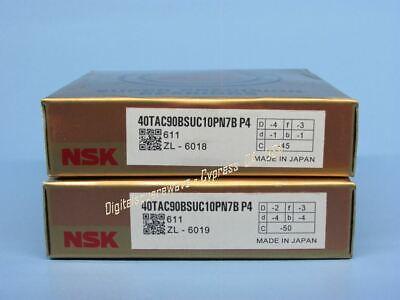 NTN 2A-BST35x72-1BLXLP4//L588 Double Seals Ball Screw Bearings Matched set of 2