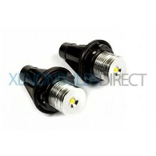 BMW E39 X5 E60 E87 E65 E63 OEM 3W LED Angel Eye Bulb Upgrade Bright White Rings
