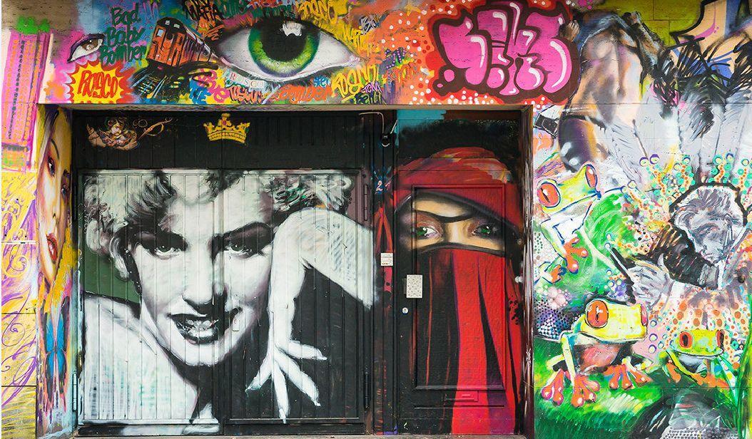3D graffiti Strokes 8 WallPaper Murals Wall Print Decal Wall Deco AJ WALLPAPER
