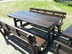PICNIC BENCHES AND TABLES