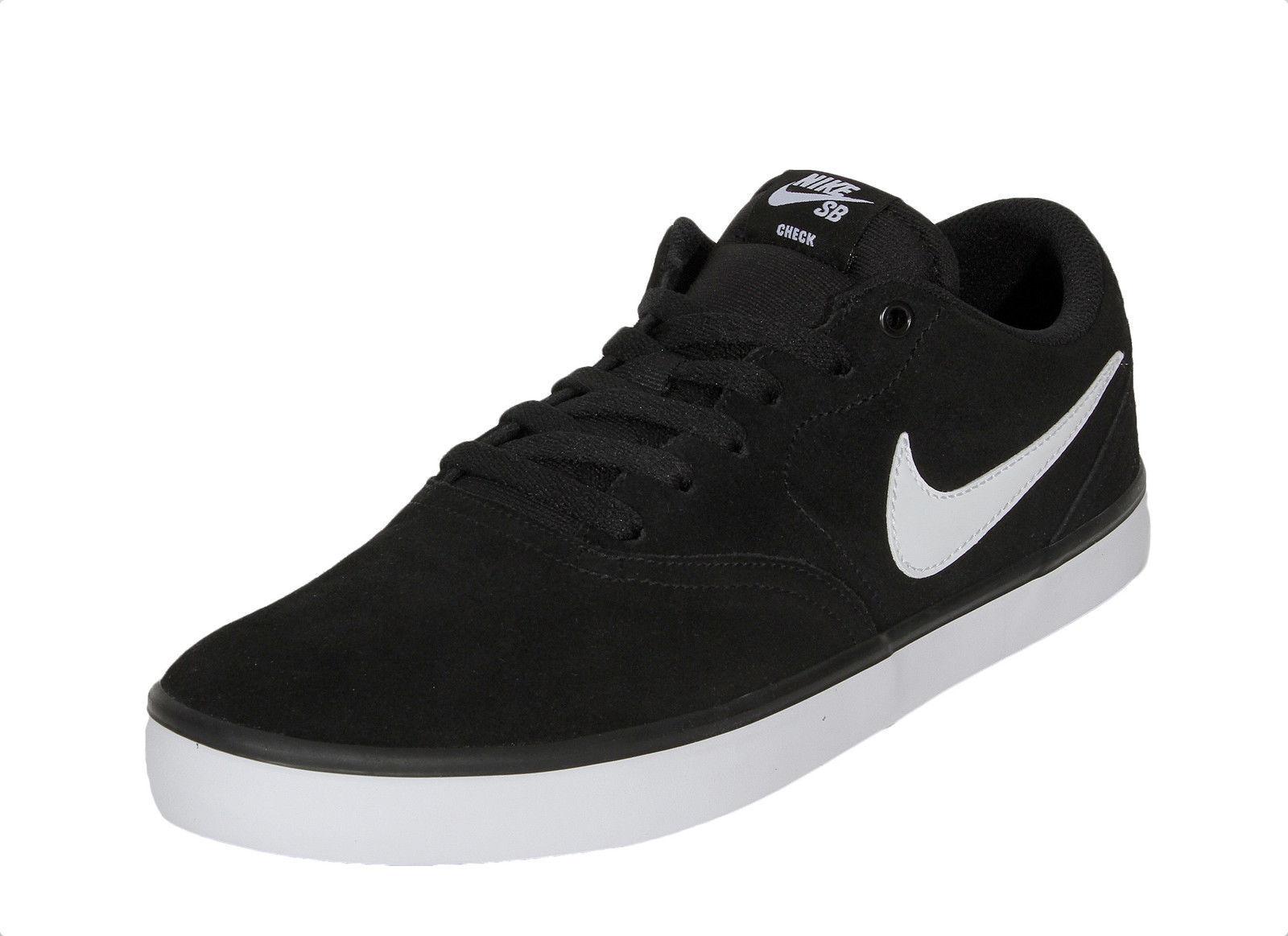Nike SB check Solar hombre Negro Blanco 843895 001 001 001 nuevo 16db7d