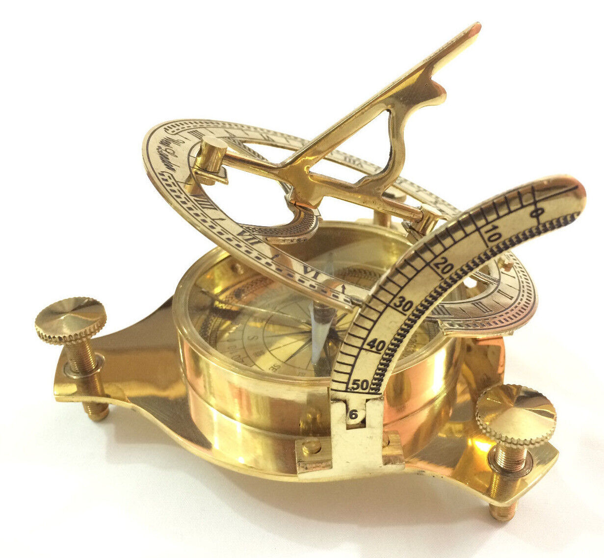 how to use a west london sundial compass