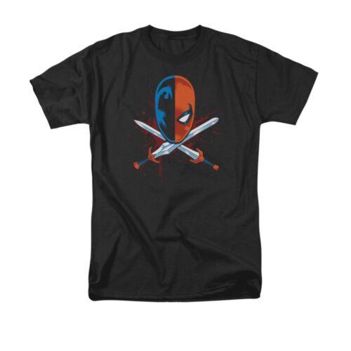 Deathstroke Crossed Swords DC Comics Licensed Adult T-Shirt