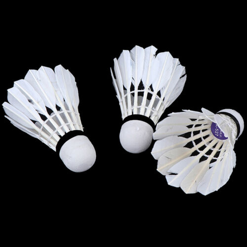 3St Badminton Natural spring ball with real feathers White spring ball  BH SE