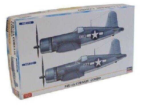 Hasegawa 1 72 F4U-1A Corsair Combo Model Kit NEW from Japan