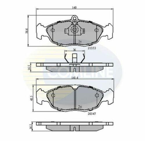 /> 97 choix 1//2 Essence Comline Plaquettes frein avant pour JAGUAR XJ 6 X300 3.2 4.0 94