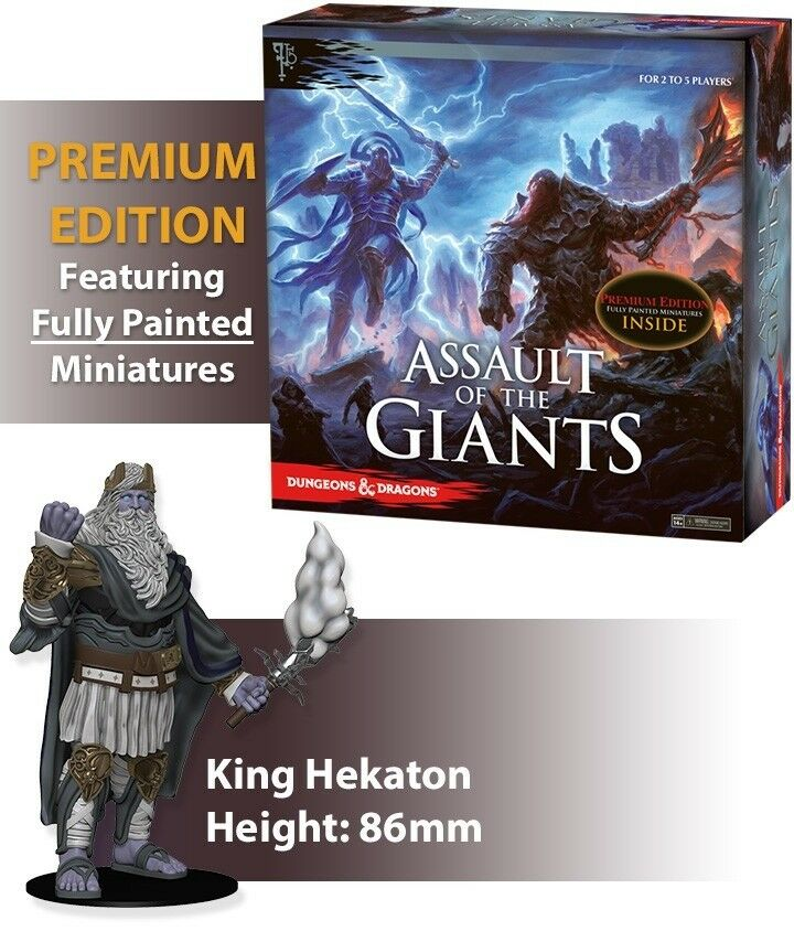 Dungeons & Dragons Assault of the Giants Premium Edition - Fully Painted Models