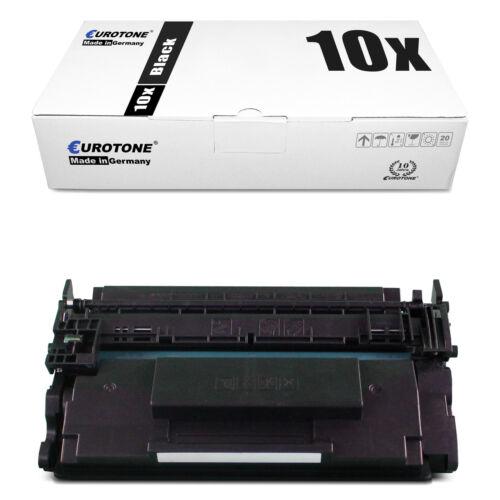 10x Eurotone ECO Patrone für HP LaserJet Pro MFP M-426-fdw MFP M-426-dw