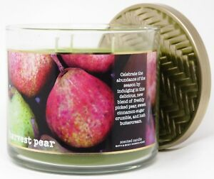 1 Bath /& Body Works HARVEST PEAR Large 3-Wick Scented Candle 14.5 oz