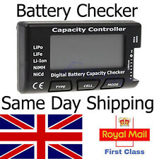 LiPo Lipo Battery Checker Capacity Voltage Tester Meter LiFe Li-ion NiMH RC lipo