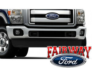 Details about 11 thru 16 Ford Super Duty F250 F350 OEM Ford Parts Fog on