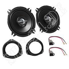 Opel Corsa B Einbauset JVC 2-Wege Boxen 13cm 250W + Lautsprecherringe + Adapter