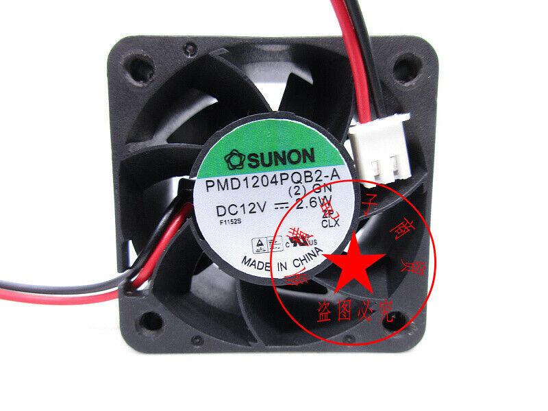 1PC SUNON PMD1204PQB2-A 4028 12V 2.6W 4CM server power cooling fan