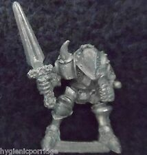 1988 Chaos Warrior of Slaanesh 0217 05 Citadel Warhammer Army Hordes Fighter D&D