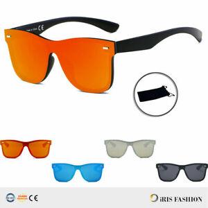 Urban-Hipster-Retro-Vintage-Rimless-Square-Shield-UV-Protect-Fashion-Sunglasses