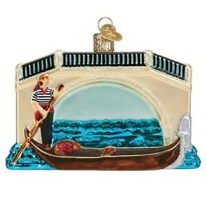 Old-World-Christmas-GONDOLA-46093-N-Glass-Ornament-w-OWC-Box