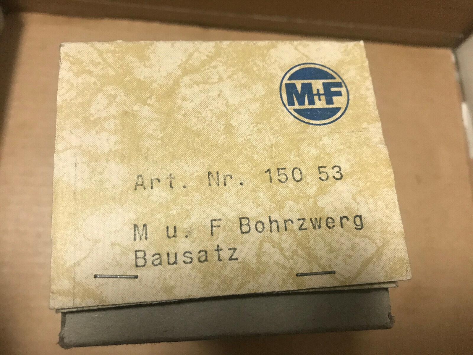 Merker + Fischer 150 53 Bausatz,Bohrzwerg Spur H0 NEU + OVP
