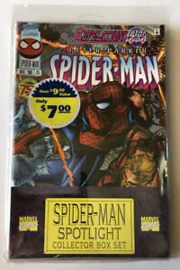 NEW-Spider-man-Spotlight-Collector-Comic-Box-Set-Marvel-1997