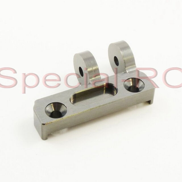 Front Upper Arm Holder #SW-330210A SWorkz S350 Alum 1:8 Buggy RC-WillPower