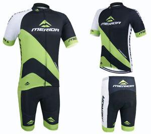 3101d863f Merida Bike Clothing Set Men s Cycling Jersey and Shorts Kit Black ...