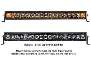 Rigid Industries Radiance Plus With Amber Back Light Led 30 Light