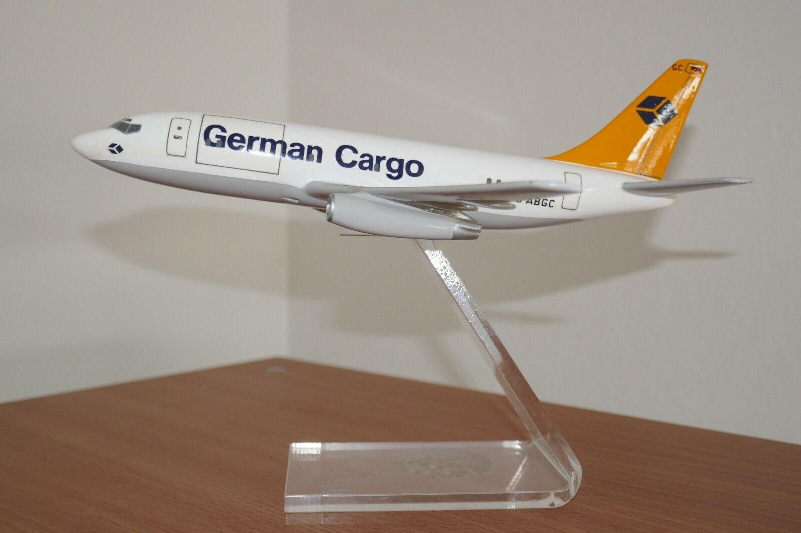 21 cm modello di aereo German Cargo BOEING 737 -200 1 100 1 144