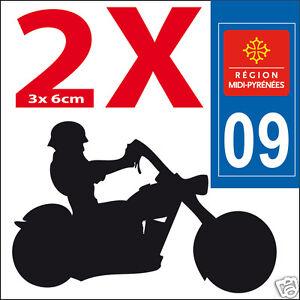 2 Stickers Autocollants Style Plaque Immatriculation Moto Département 09 Amener Plus De Commodité Aux Gens Dans Leur Vie Quotidienne