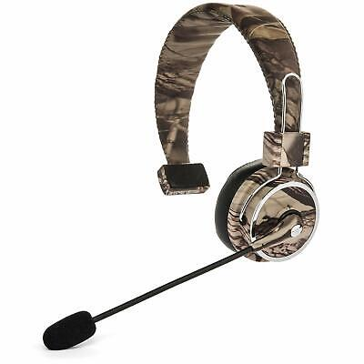 Wireless Bluetooth Headset Professional Truckers With Mic Calls Gps Music Noise Ebay
