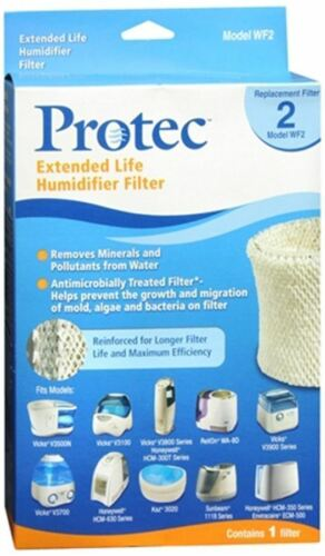 Kaz Protec Vicks Extended Life Humidifier Replacement Filter Model WF2 1 Each