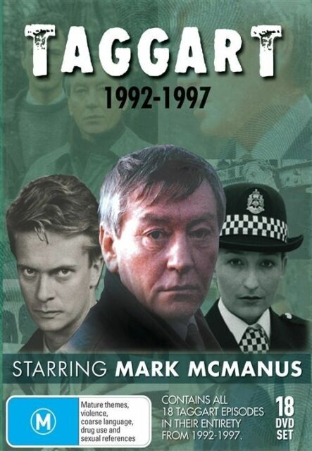 Taggart 1992 - 1997 Collection DVD 18-Disc Set