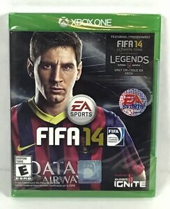 Details about XBOX ONE FIFA 14 ⚽️ Football Video Game Complete New EA  Sports Running B29-20