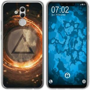 Huawei-Mate-20-Lite-Coque-en-Silicone-element-feu-M3-Case-films-de-protection